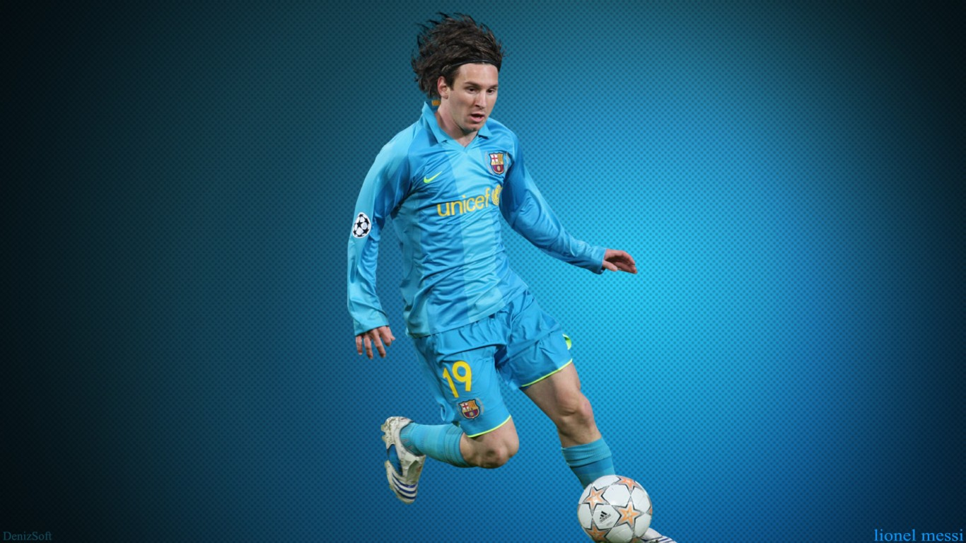 Music Anime Lionel Messi Fc Barcelona Hd Jootix 203221 - Messi Footballer , HD Wallpaper & Backgrounds