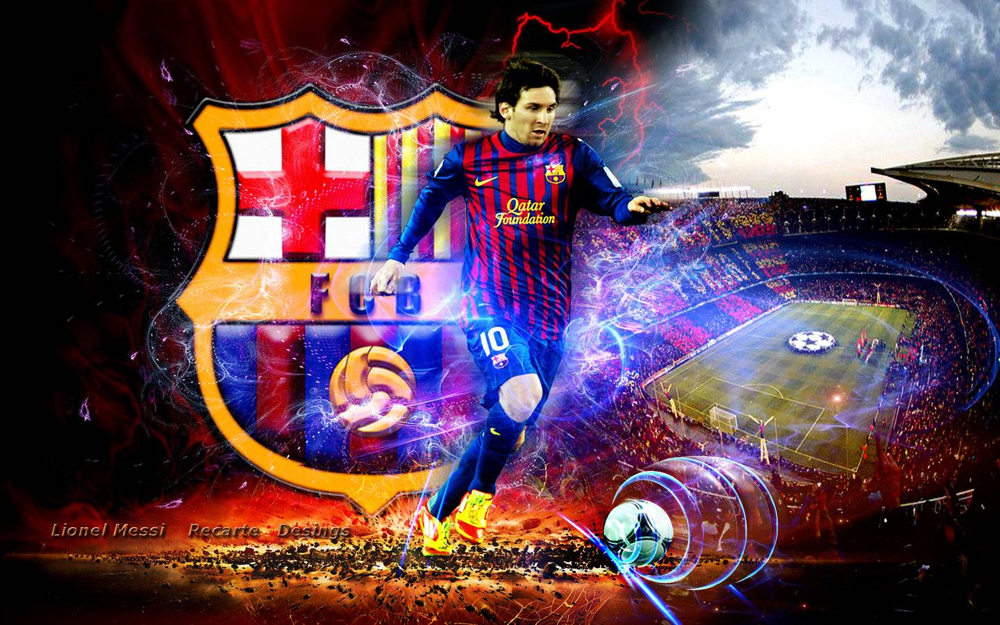 Lionel Messi Barcelona Fc Wallpaper All Wallpapers , HD Wallpaper & Backgrounds