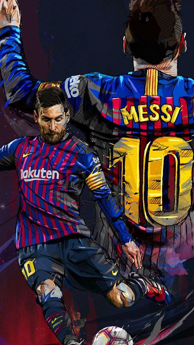 Messi Wallpaper Iphone 2019 , HD Wallpaper & Backgrounds