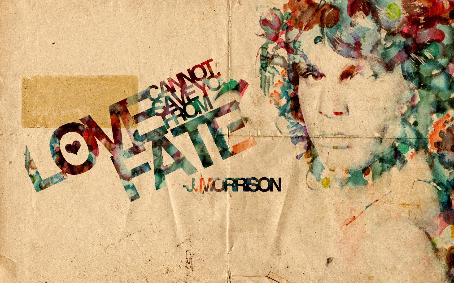 Jim Morrison Art Wall Paper , HD Wallpaper & Backgrounds