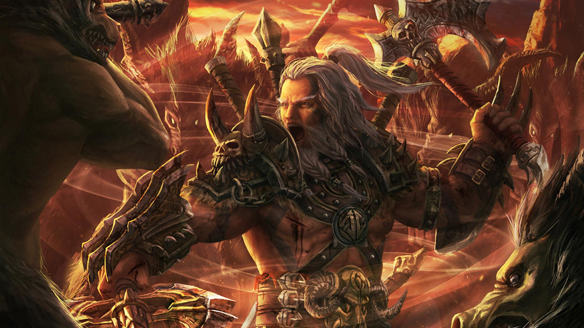 Diablo 3 Barbarian Wallpaper 4k Barbarian Diablo 3 Lore 3255530 Hd Wallpaper Backgrounds Download
