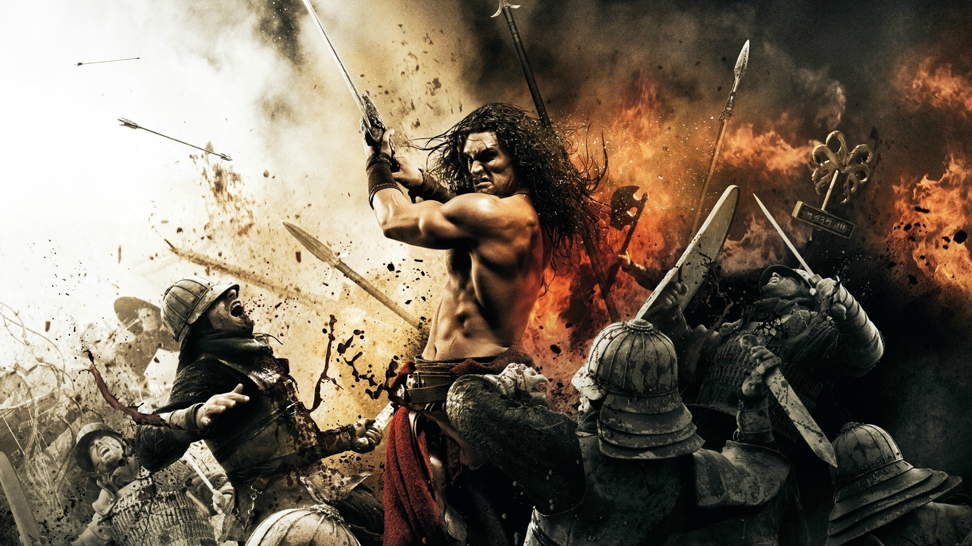 King Of Kings - 2011 Conan The Barbarian Movie Poster , HD Wallpaper & Backgrounds