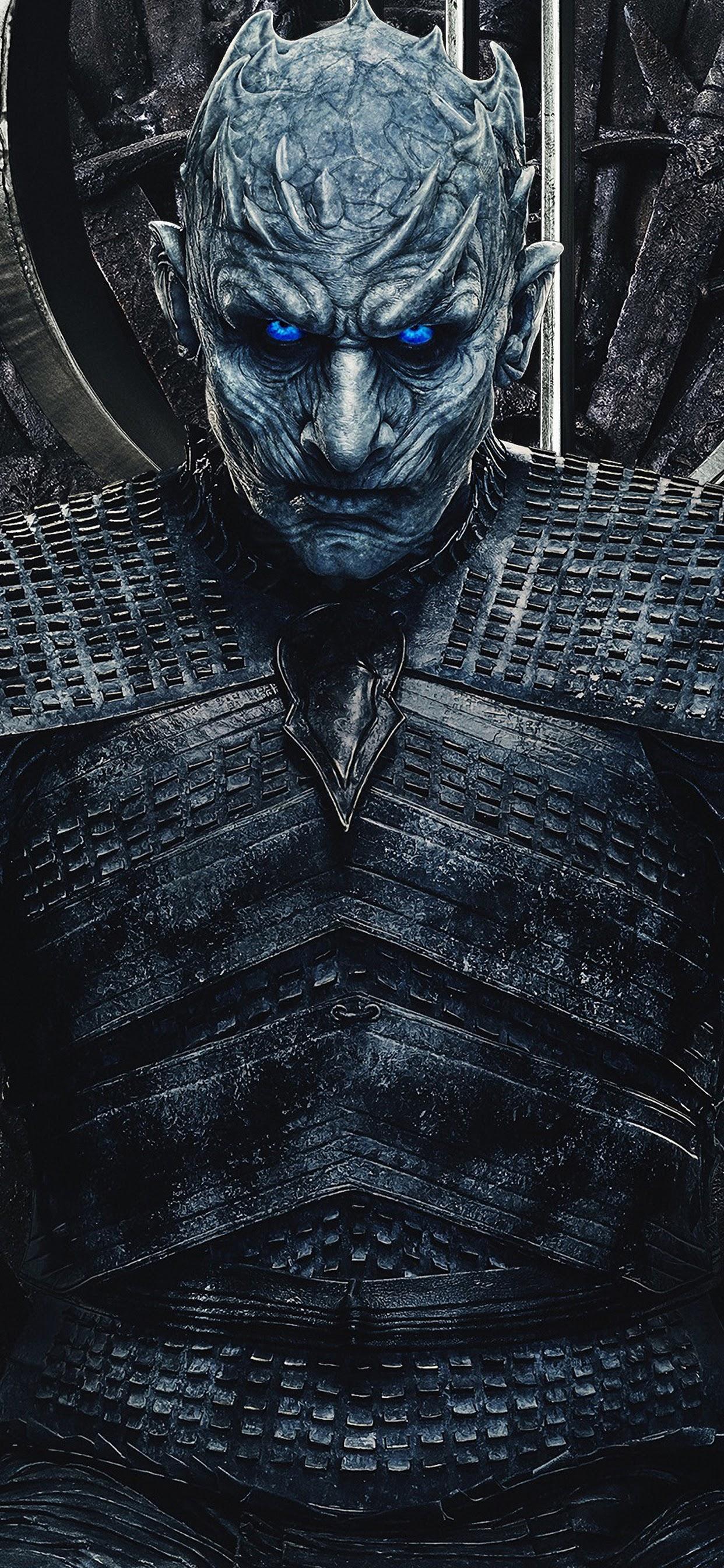 Night King, Game Of Thrones, Season 8, 4k, - Game Of Thrones Iron Thrown , HD Wallpaper & Backgrounds