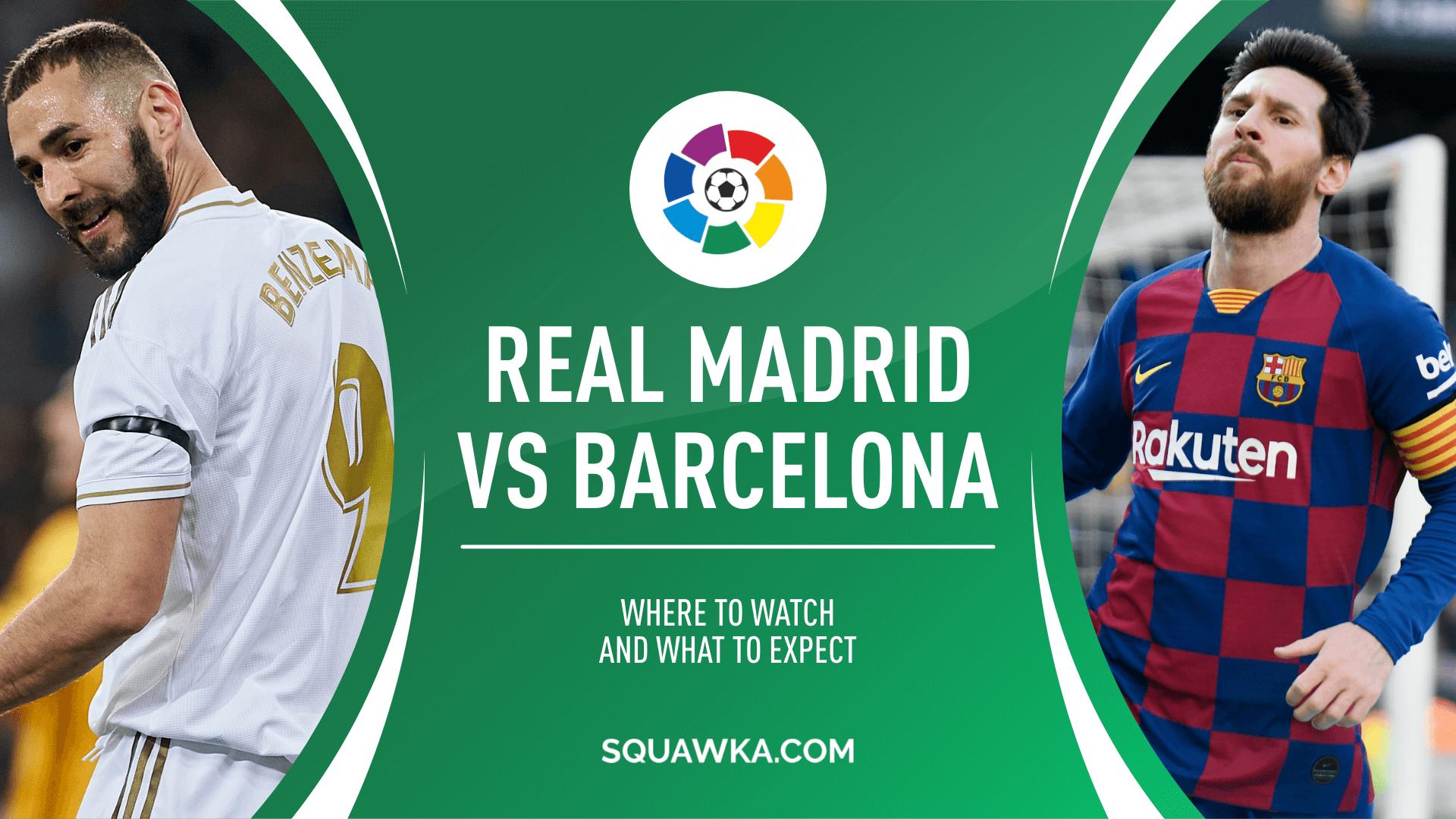 El Clasico Real Madrid Vs Barcelona 2020 , HD Wallpaper & Backgrounds