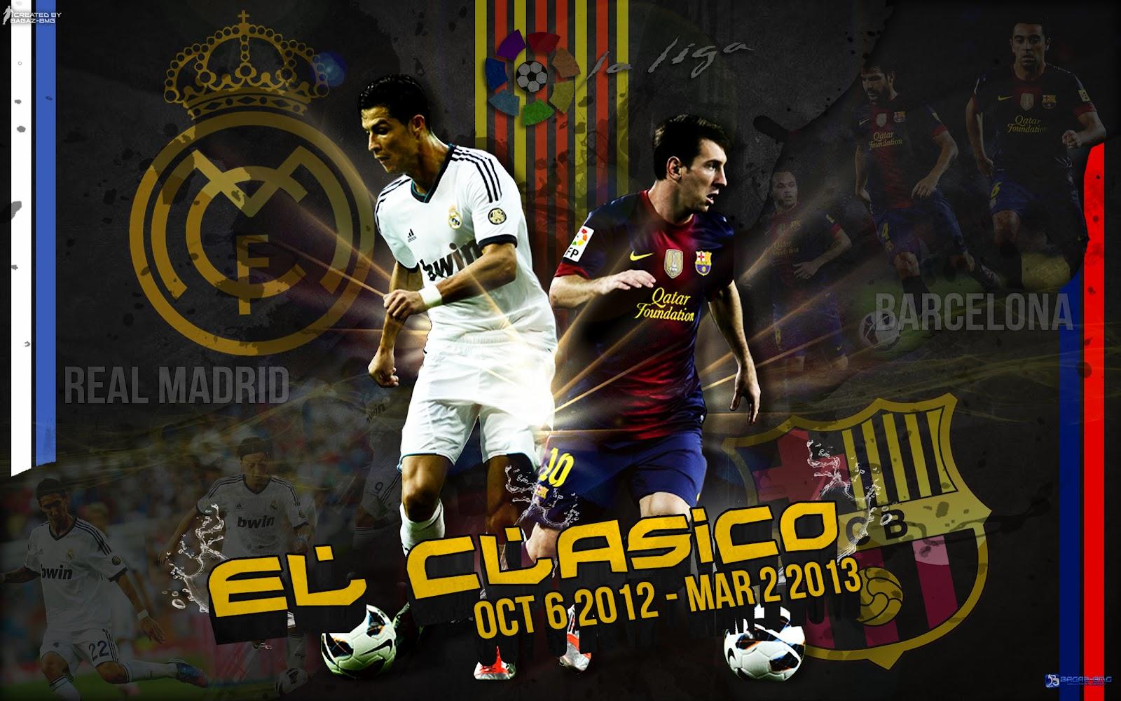 Real Madrid Vs Barcelona Wallpaper - El Clasico Wallpapers Hd , HD Wallpaper & Backgrounds
