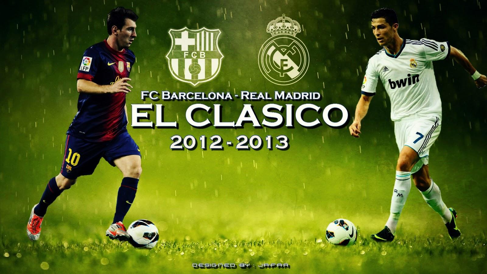 Barcelona Wallpaper 2013 - El Clasico Football Match , HD Wallpaper & Backgrounds