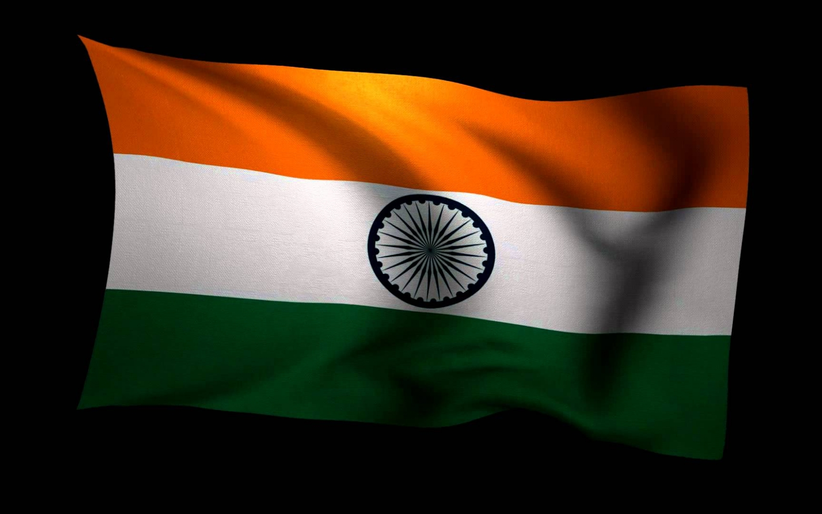 Indian National Flag Animated - Moving Indian Flag Gif , HD Wallpaper & Backgrounds