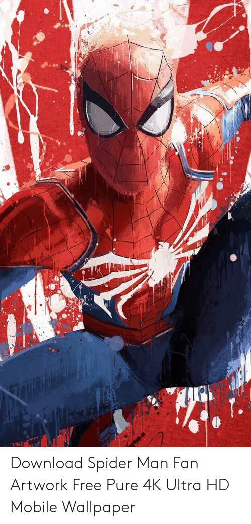 Spider, Spiderman, And Free - Spider Man Ps4 Painting , HD Wallpaper & Backgrounds