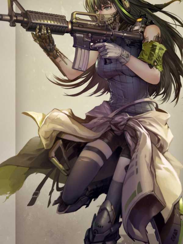 Girls Frontline Anime, Girls Frontline, Anime Girl, - Girls Frontline Wallpaper Iphone , HD Wallpaper & Backgrounds