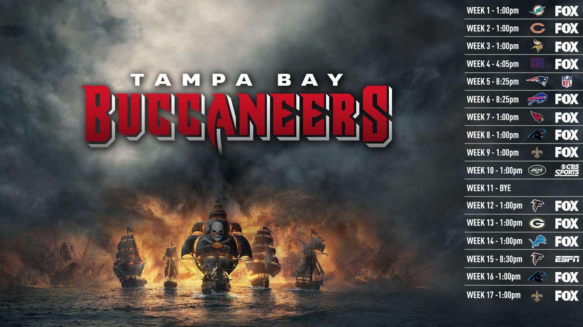 Tampa Bay Buccaneers Wallpaper Tampa Bay Buccaneers 2018 Schedule 3273000 Hd Wallpaper Backgrounds Download