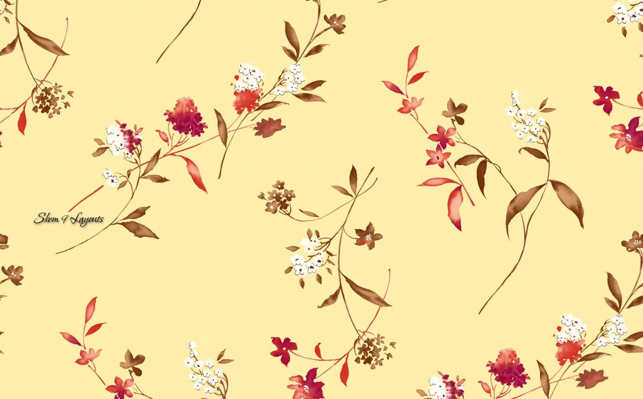 Japanese Style Flowers Patterns , HD Wallpaper & Backgrounds