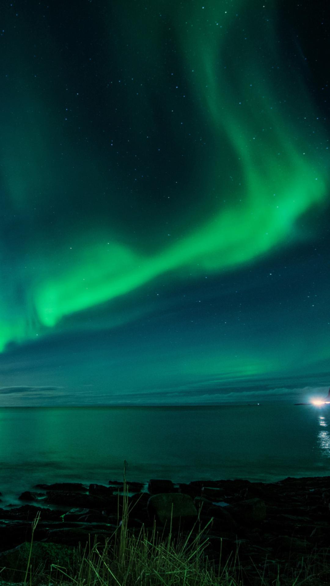 Aurora Nature Wallpaper Note 10 11 Iphone 12 Ios 13 - Northern Lights Iceland Wallpaper Iphone , HD Wallpaper & Backgrounds