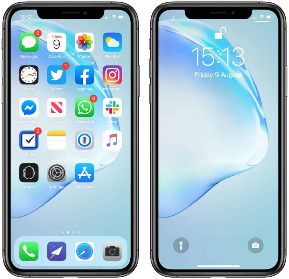 Iphone 11 Home Screen Notch 3277757 Hd Wallpaper Backgrounds Download