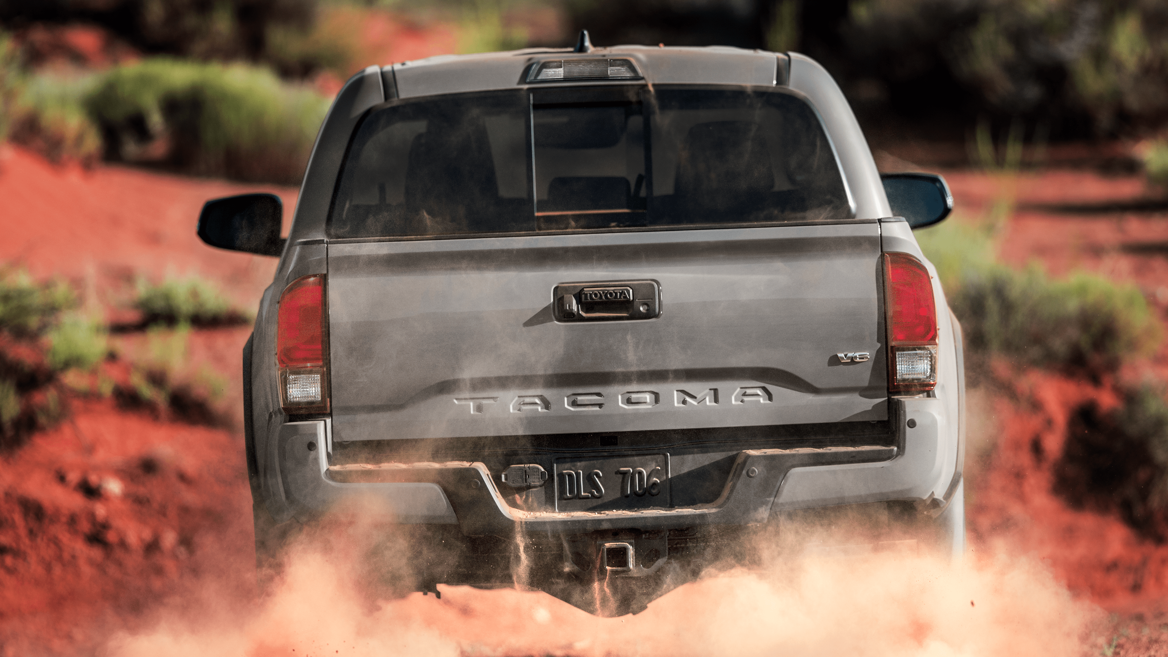Toyota Tacoma 2019 Back , HD Wallpaper & Backgrounds
