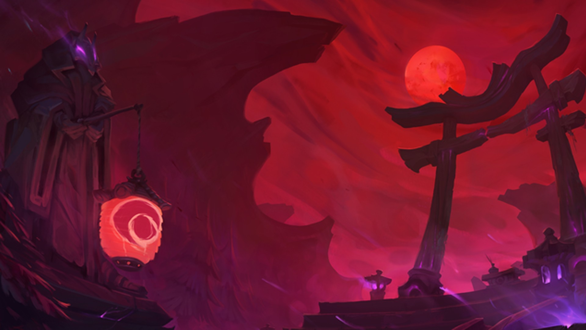 1920x1080 Summoners Rift Blood Moon Wallpapers Hd Blood Moon Wallpaper League Of Legends 3286064 Hd Wallpaper Backgrounds Download