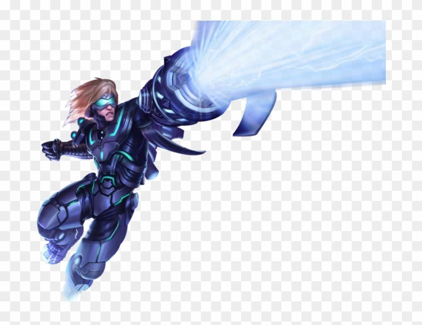 League Of Legends Desktop Wallpaper Rendering Clip - Mobile Legends Hero Transparent , HD Wallpaper & Backgrounds