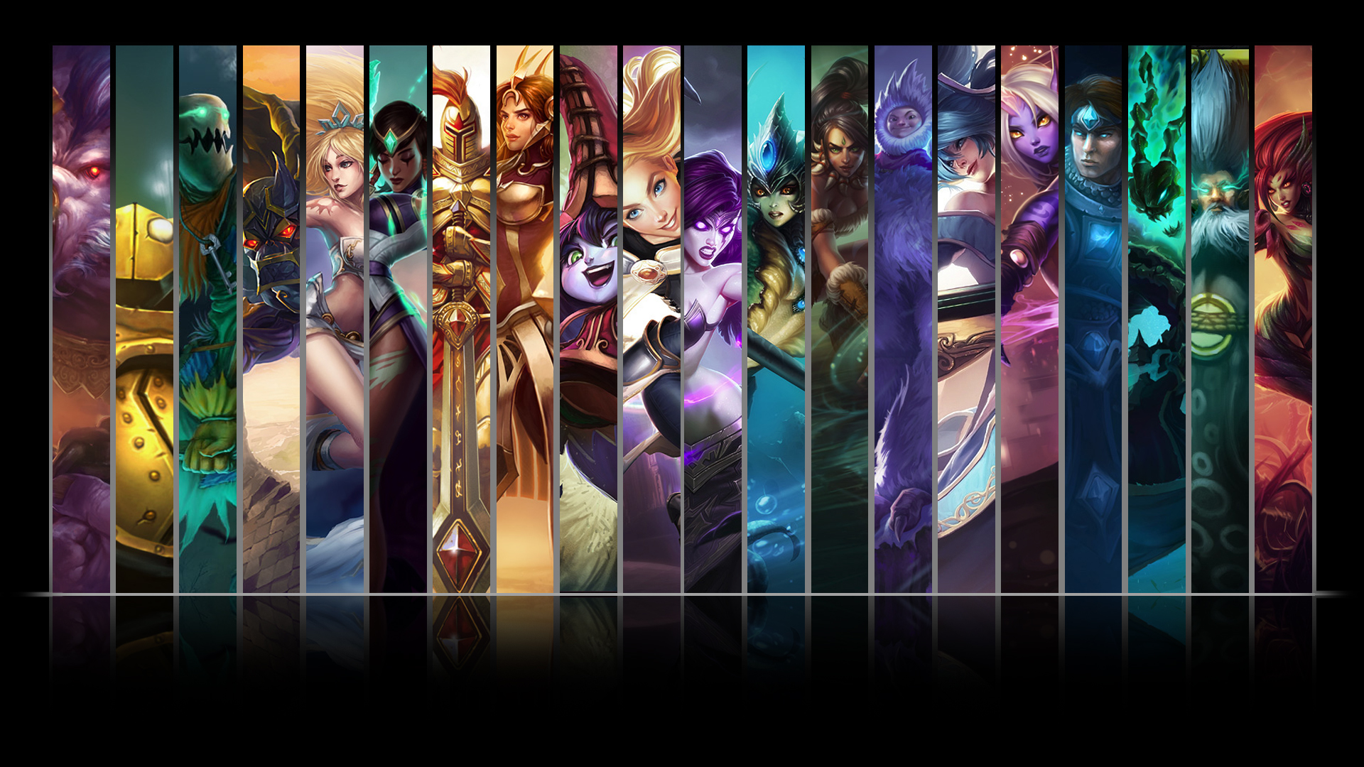 Wallpaper Do Lol League Of Legends Support Champions Hd Wallpaper Backgrounds Download