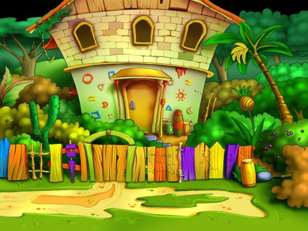 Background Cartoon Full Hd , HD Wallpaper & Backgrounds