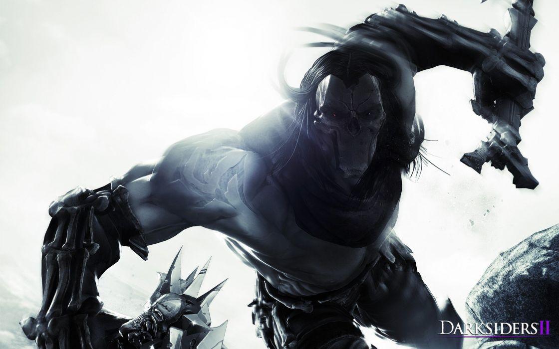 Death Darksiders 2 Wallpaper - Darksiders 2 Part 2 , HD Wallpaper & Backgrounds