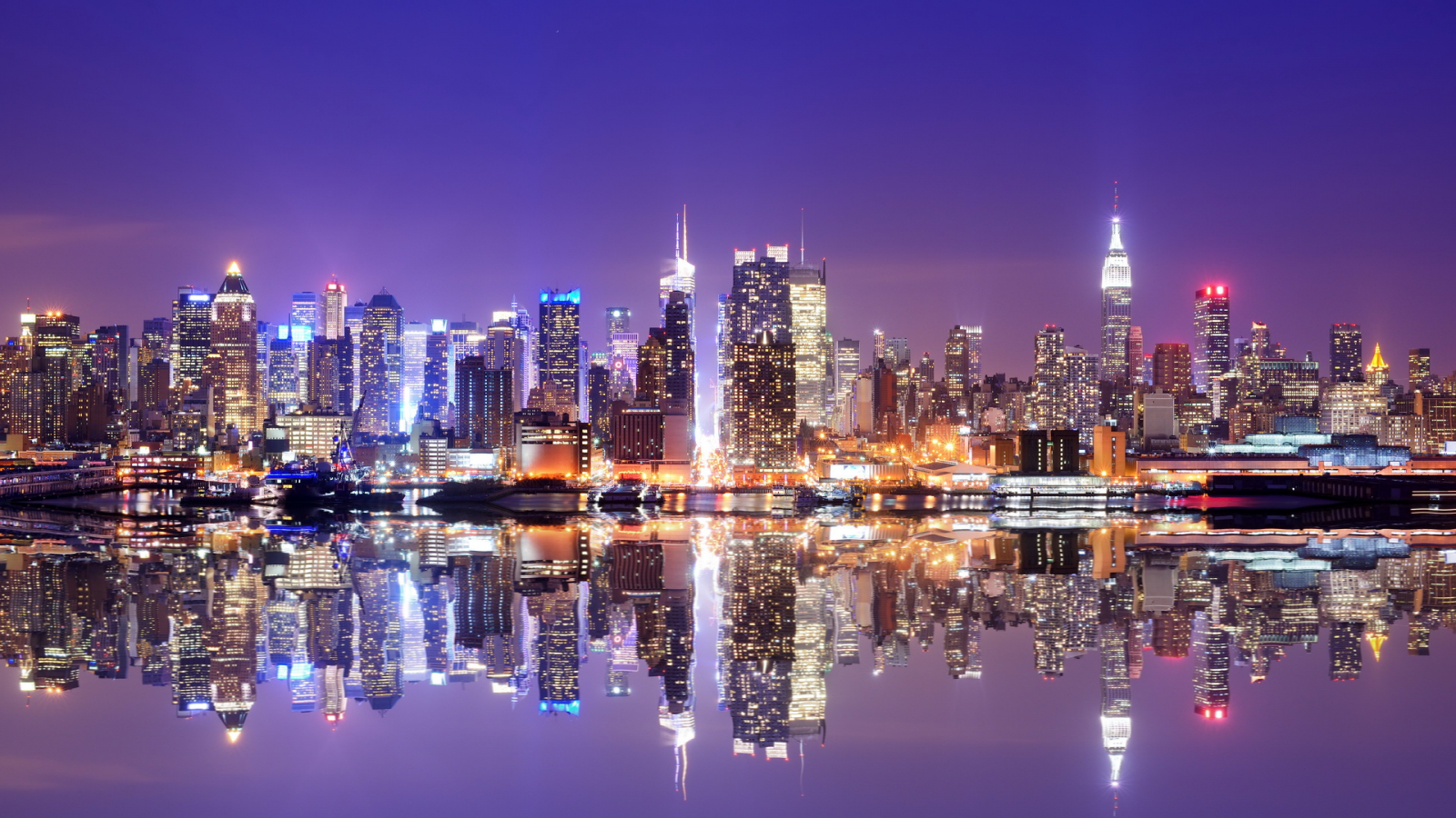 New York City Lights , HD Wallpaper & Backgrounds