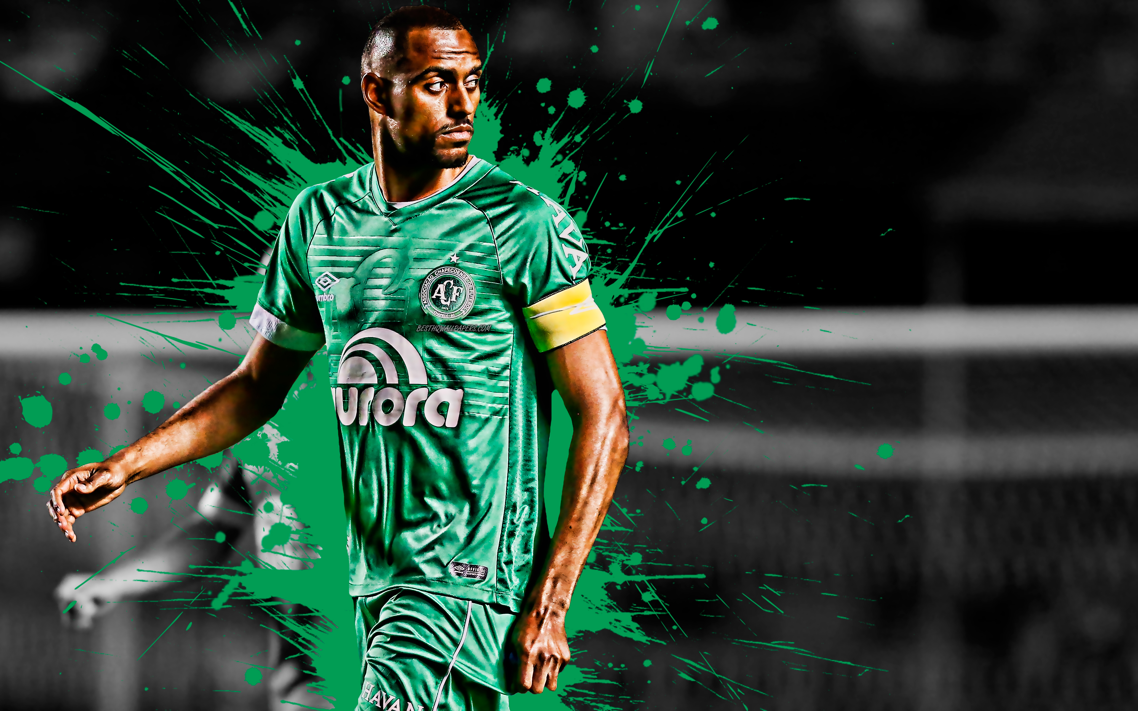 Douglas, 4k, Brazilian Football Player, Chapecoense, - Jogador Douglas Da Chapecoense Png 2019 , HD Wallpaper & Backgrounds