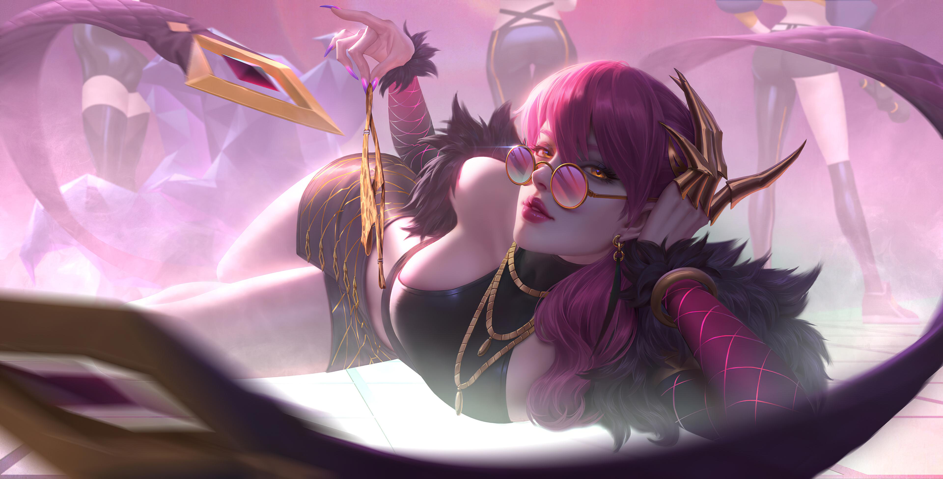 League Of Legends Kda Evelynn , HD Wallpaper & Backgrounds