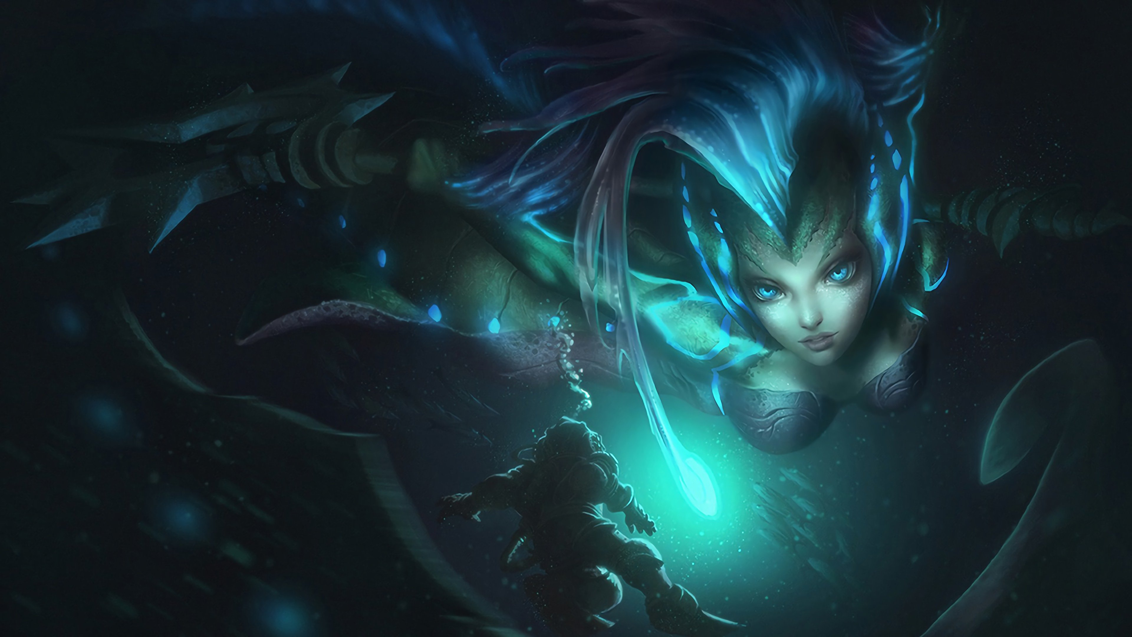 High Resolution Nami Uhd 4k Wallpaper Id Nami Wallpaper League Of Legends 3293160 Hd Wallpaper Backgrounds Download