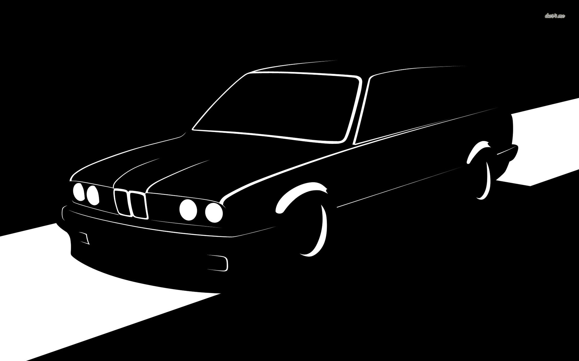 Bmw E30 Touring Silhouette Wallpaper Bmw E30 Silhouette 331774 Hd Wallpaper Backgrounds Download
