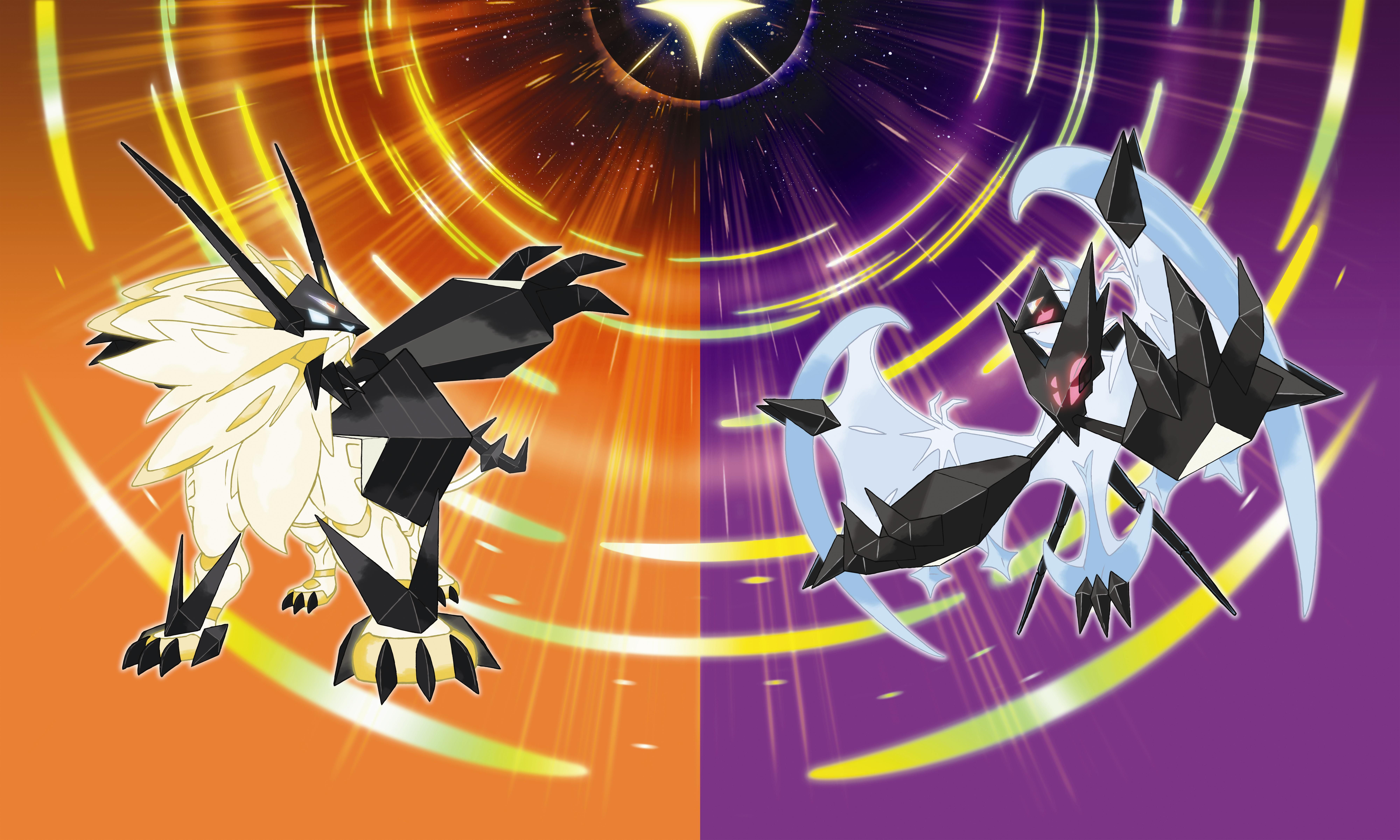 Pokemon Ultra Sun Ultra Moon Wallpaper Hd Pokemon Sun And Moon