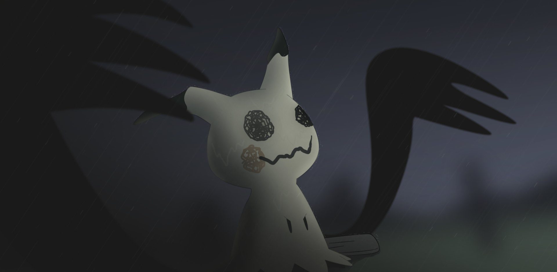 Sun And Moon, Mimikkyu , Pokémon Sun And - Animal Figure , HD Wallpaper & Backgrounds