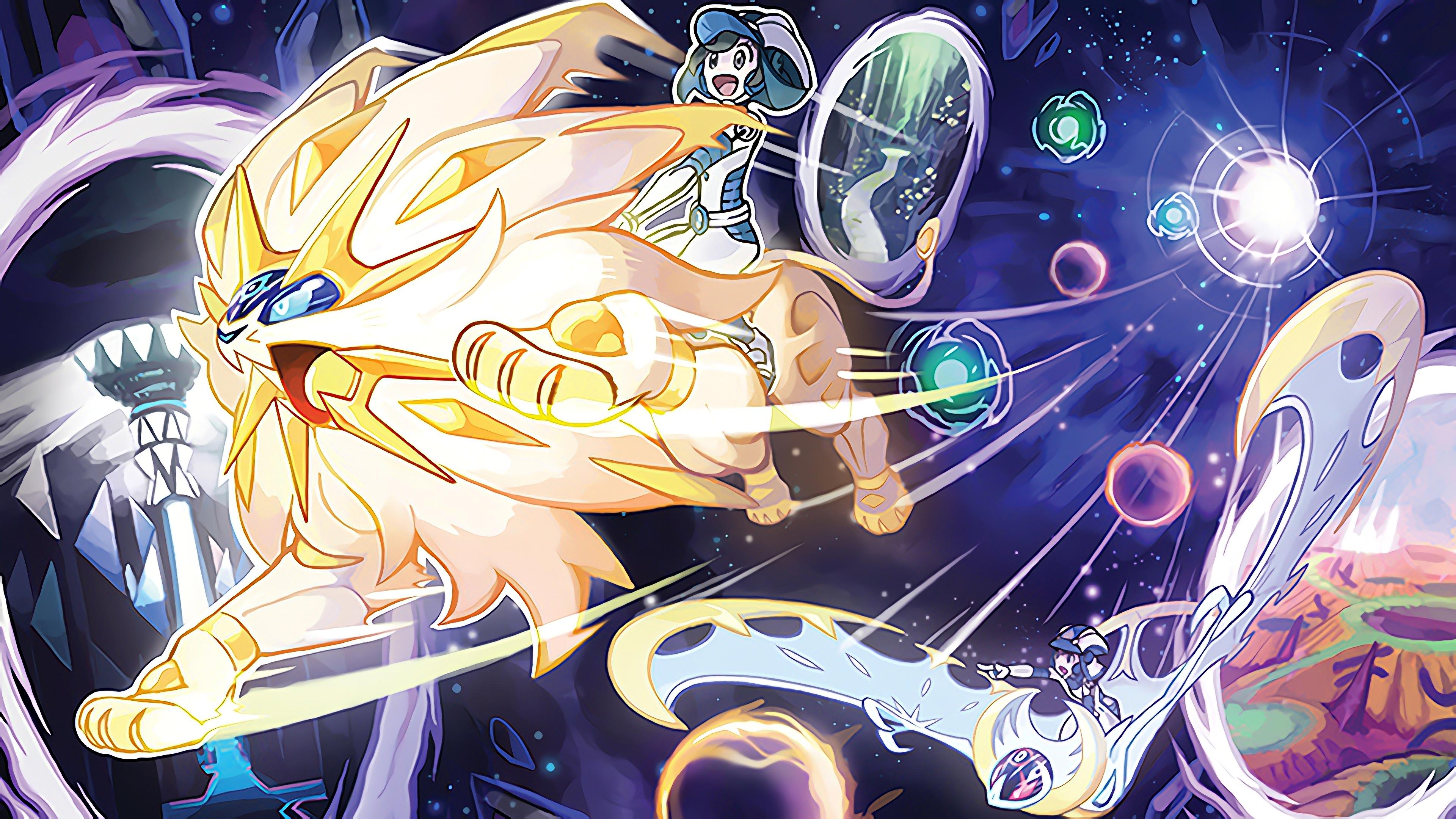 Pokemon Ultra Sun And Moon Xbox 360 Wallpaper - Pokemon Ultra Sun And Ultra Moon , HD Wallpaper & Backgrounds