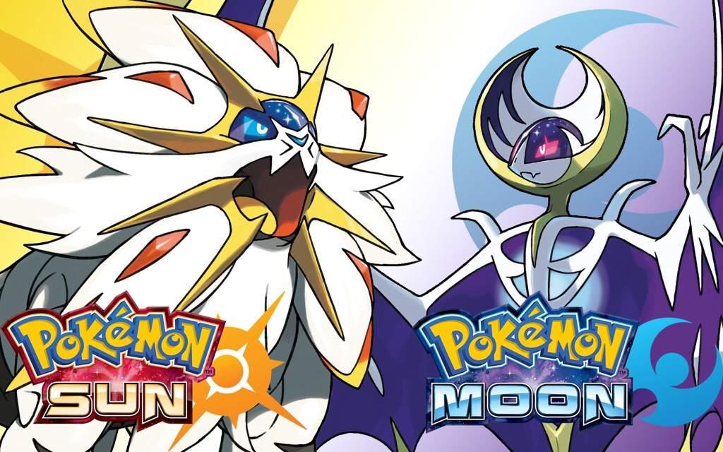 Pokémon - Lunala Vs Solgaleo , HD Wallpaper & Backgrounds
