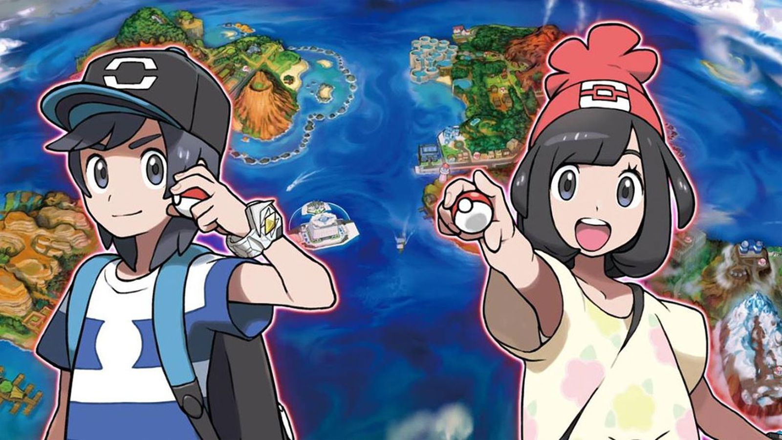 Pokemon Moon And Sun , HD Wallpaper & Backgrounds