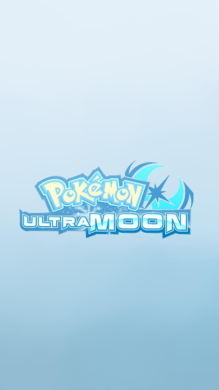 Pokemon Ultra Sun And Ultra Moon Phone Wallpapers - Pokemon Ultra Sun And Moon Title Screen Gif , HD Wallpaper & Backgrounds