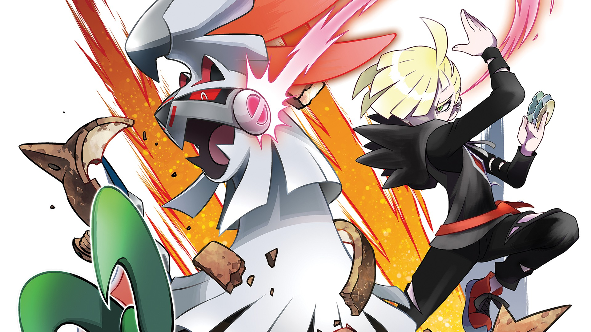 Pokémon - Pokemon Sun And Moon Gladion , HD Wallpaper & Backgrounds