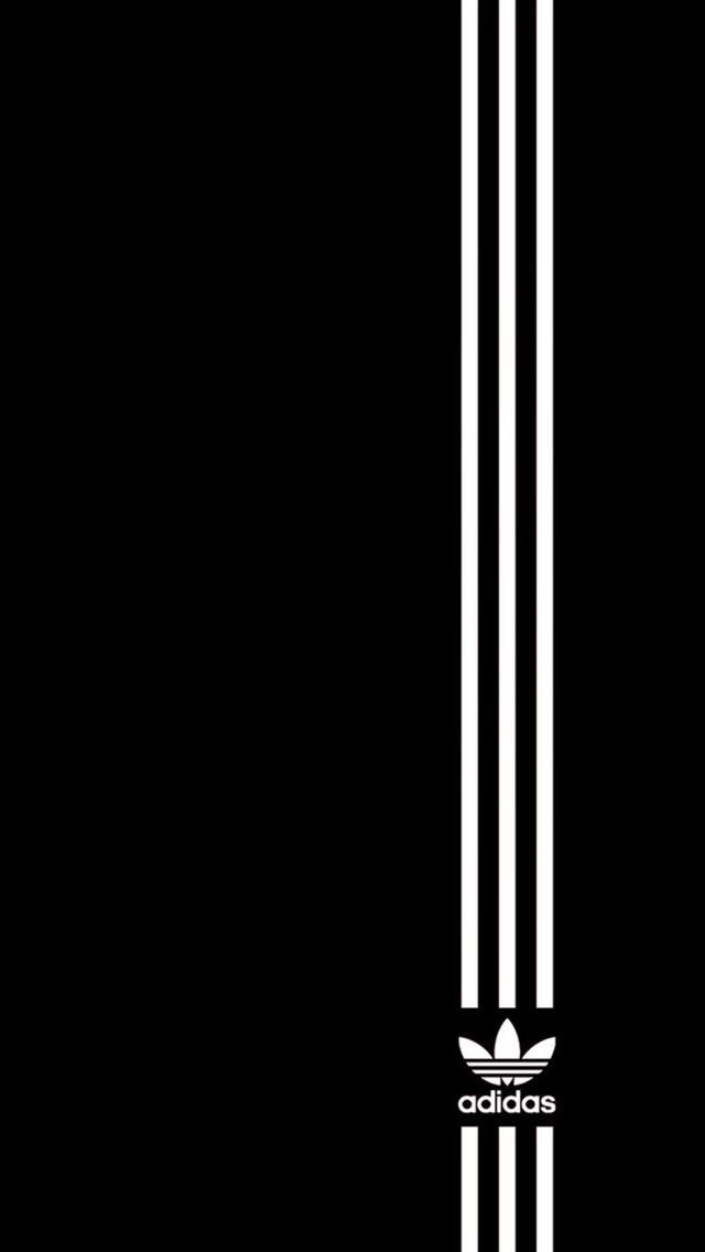 Simple Adidas Logo Adidas Lockscreen 333747 Hd