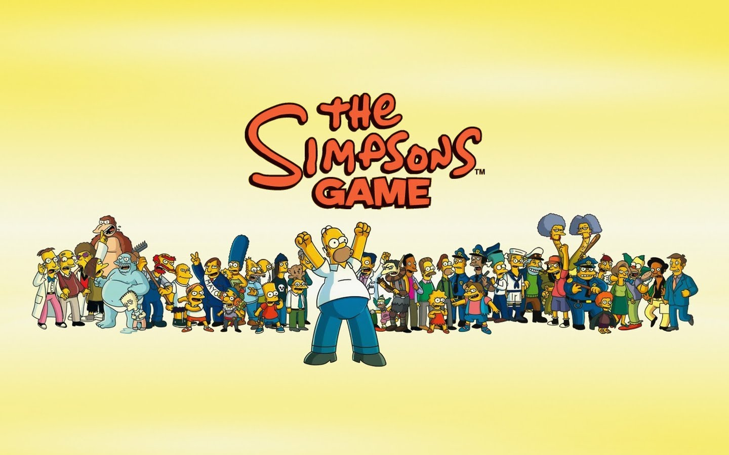 The Simpsons Movie Wallpaper Hd Simpsons Game Original Soundtrack 334856 Hd Wallpaper Backgrounds Download
