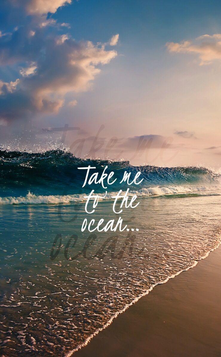 Cute Beach Wallpaper Iphone Wallpaper Ocean Quotes 335964