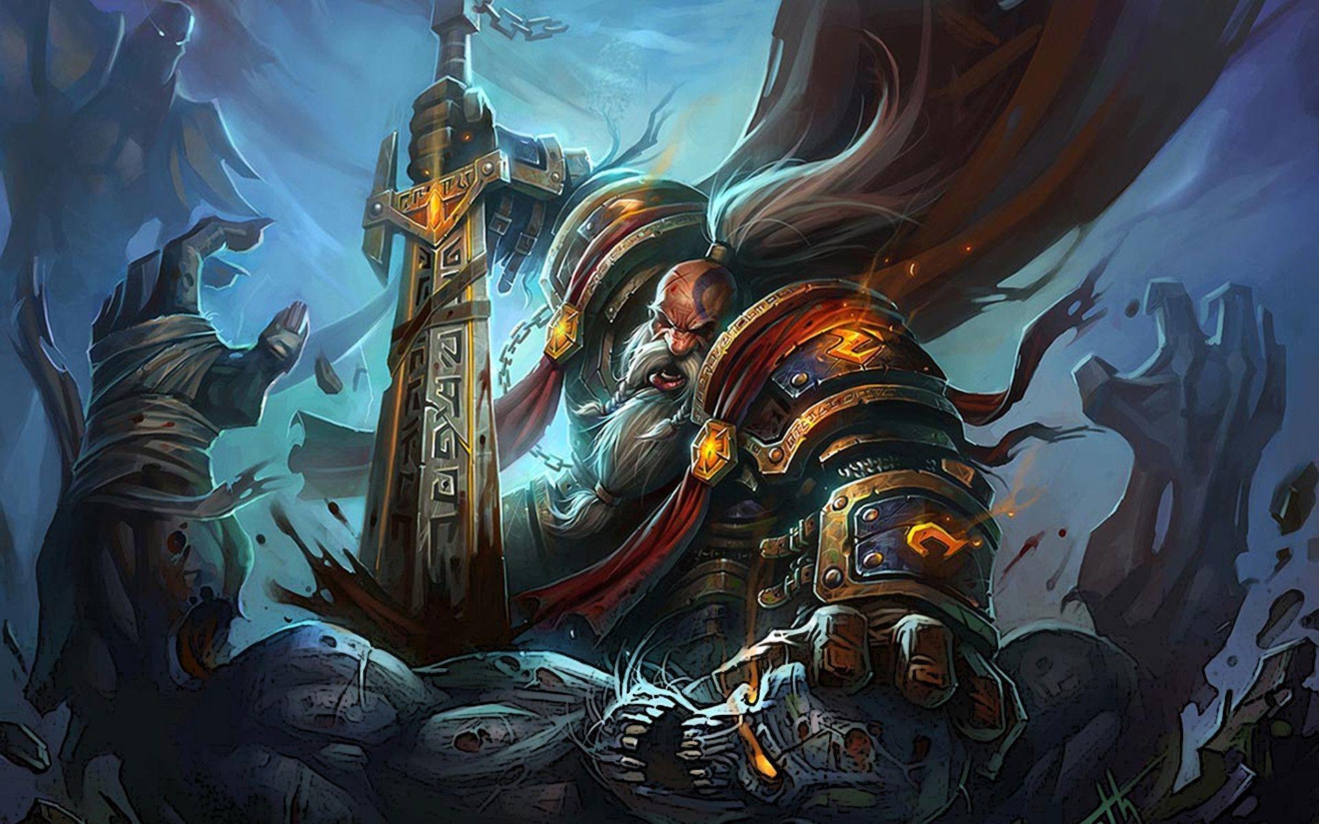 Wow Legion Wallpaper Dwarf Wallpaper Wow 338289 Hd