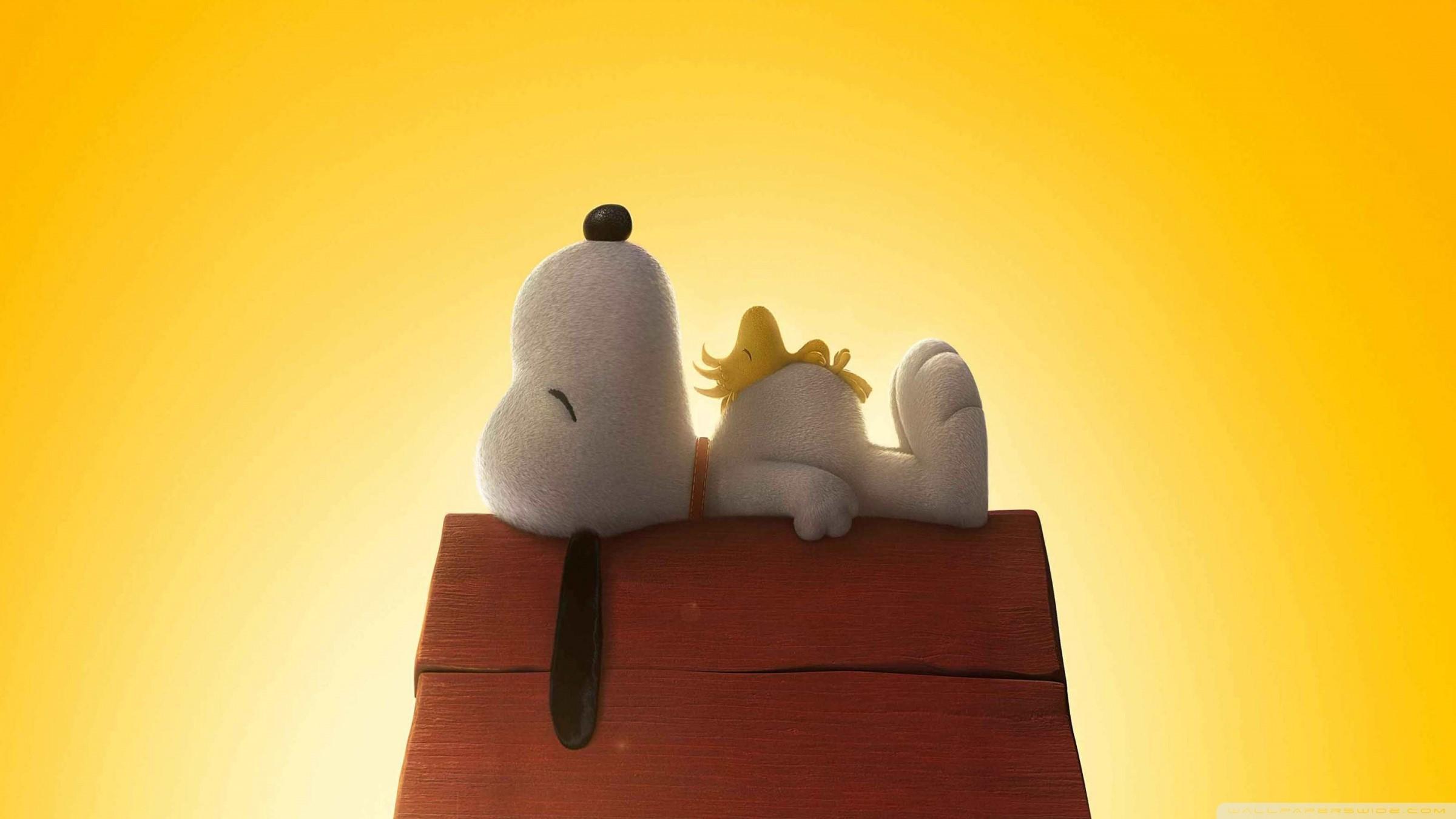 Wallpaper Snoopy Y Charlie Brown Peanuts Movie 338291