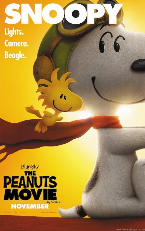 Popular Peanuts Wallpaper Buy Cheap Peanuts Wallpapers - Peanuts Movie Movie Poster , HD Wallpaper & Backgrounds