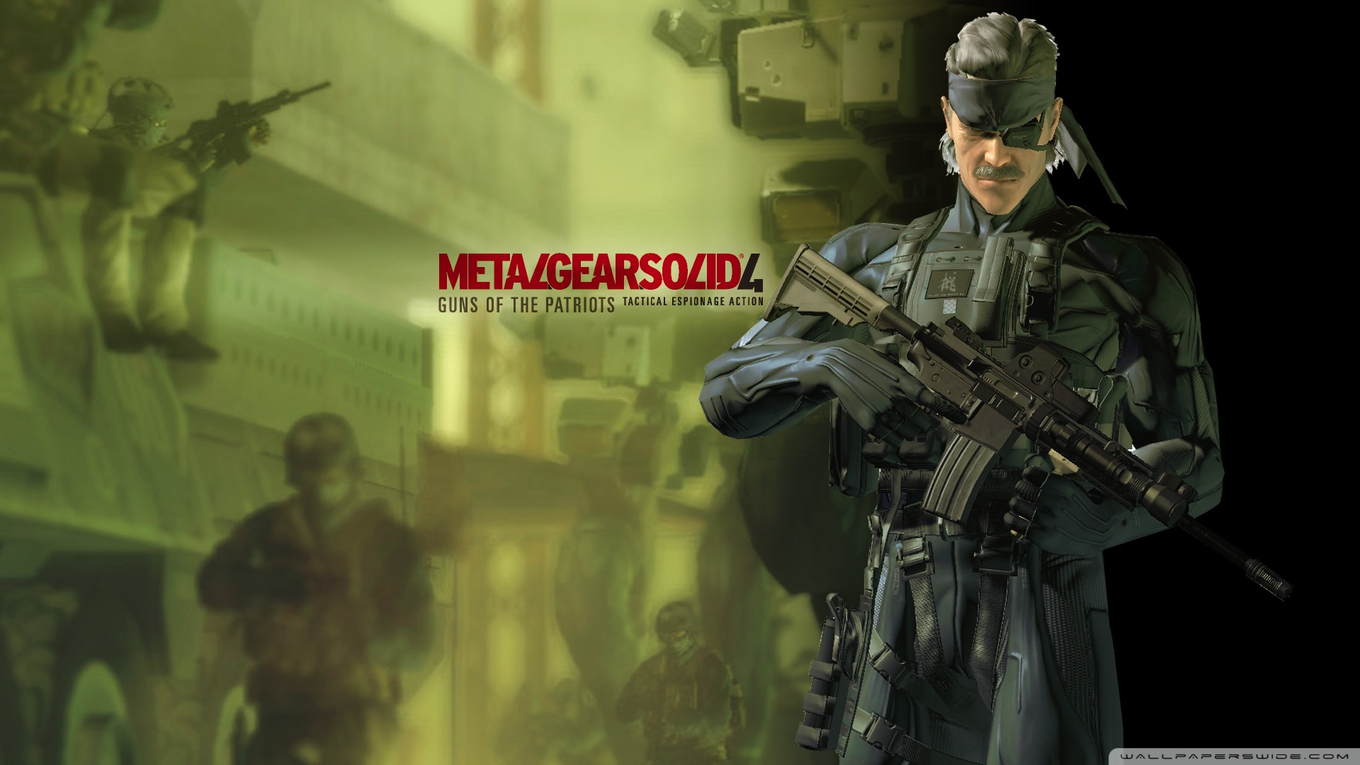 Metal Gear Solid 4 Wallpapers Metal Gear Solid 4 Wallpaper 1080p