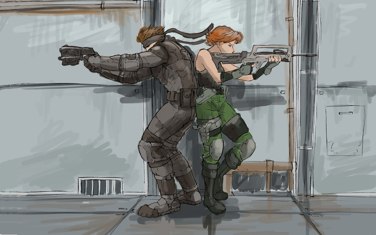 Solid Snake Metal Gear Solid Wallpaper Metal Gear Solid