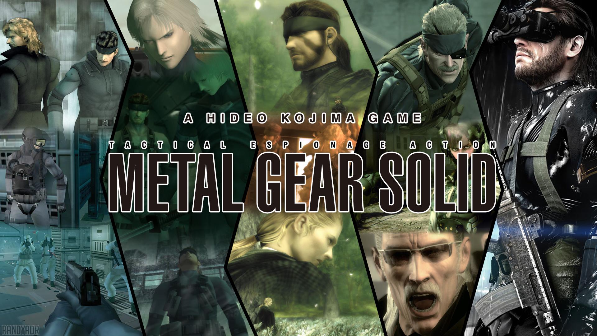 Metal Gear Solid 1 2 3 4 5 339734 Hd Wallpaper Backgrounds