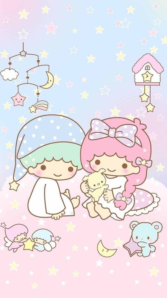 Little Twin Stars Little Twin Star Iphone 339864 Hd Wallpaper Backgrounds Download