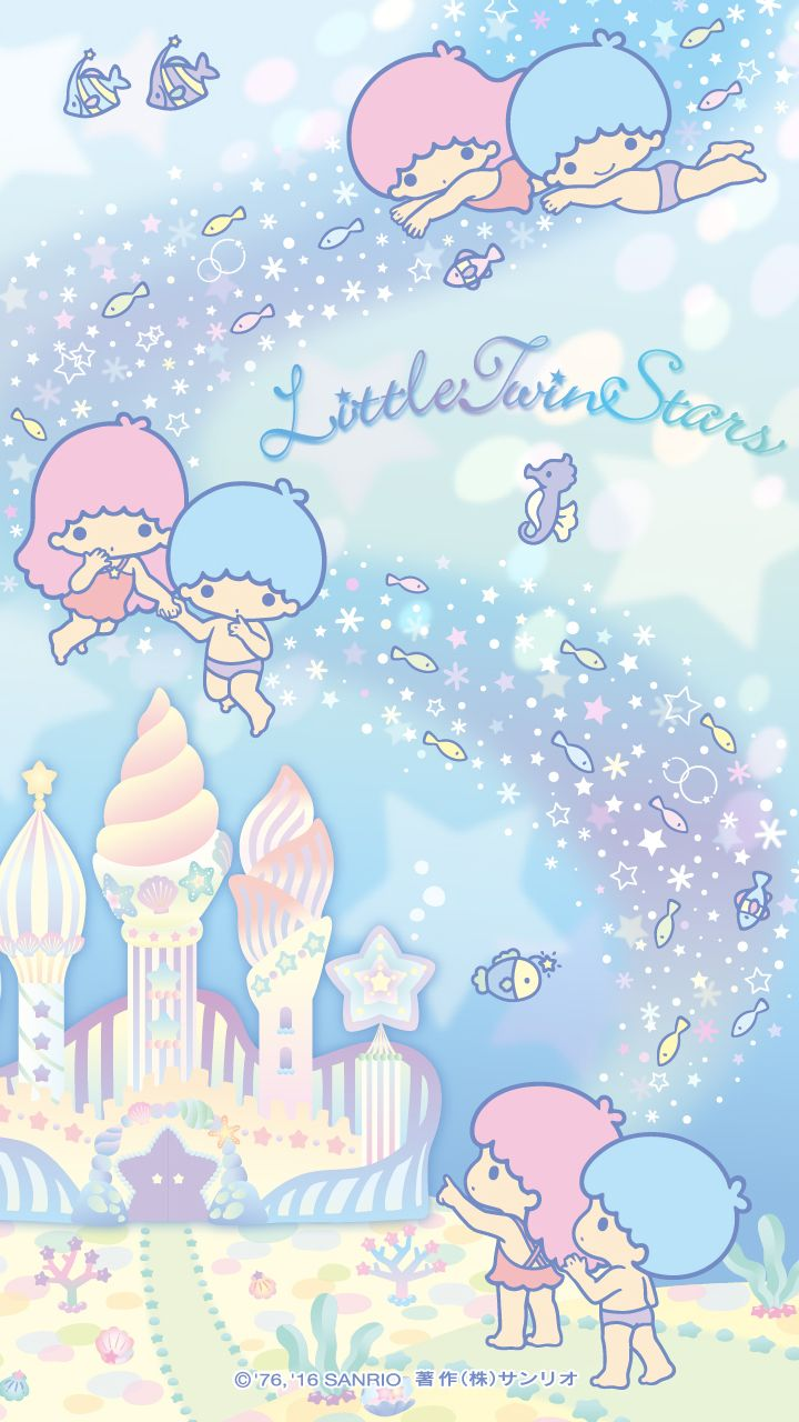 Wallpaper Little Twin Star - Little Twin Stars Iphone 6 , HD Wallpaper & Backgrounds