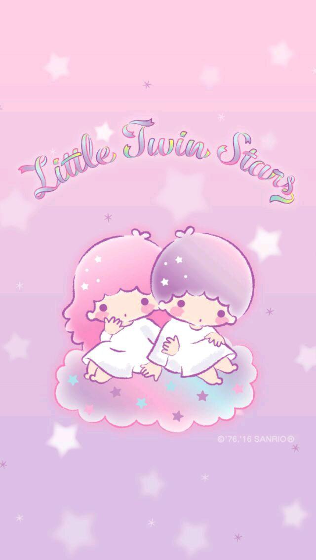 Little Twin Stars Wallpaper Called Little Twin Stars - Little Twin Stars Phone , HD Wallpaper & Backgrounds