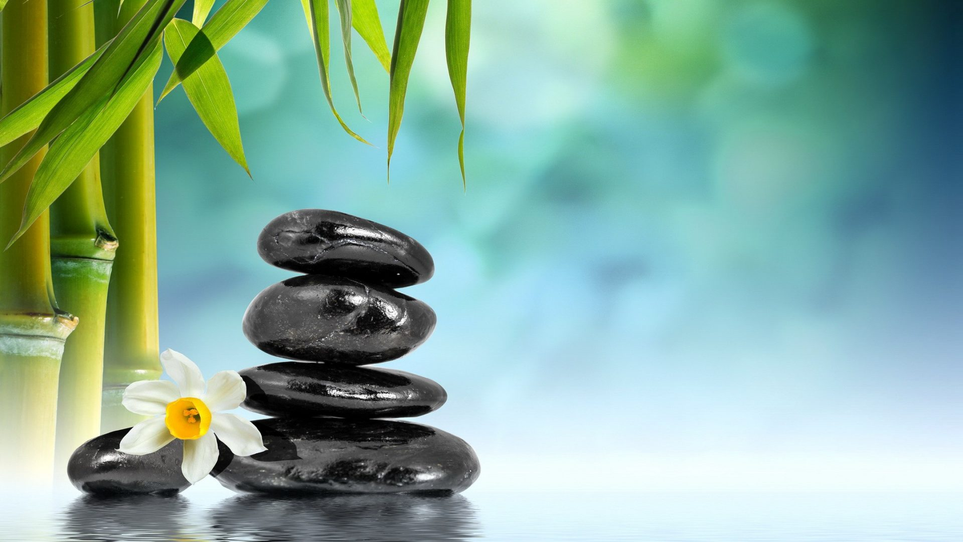 Relaxing Tag Wallpapers Page 4 Water Bamboo Stones Bamboo