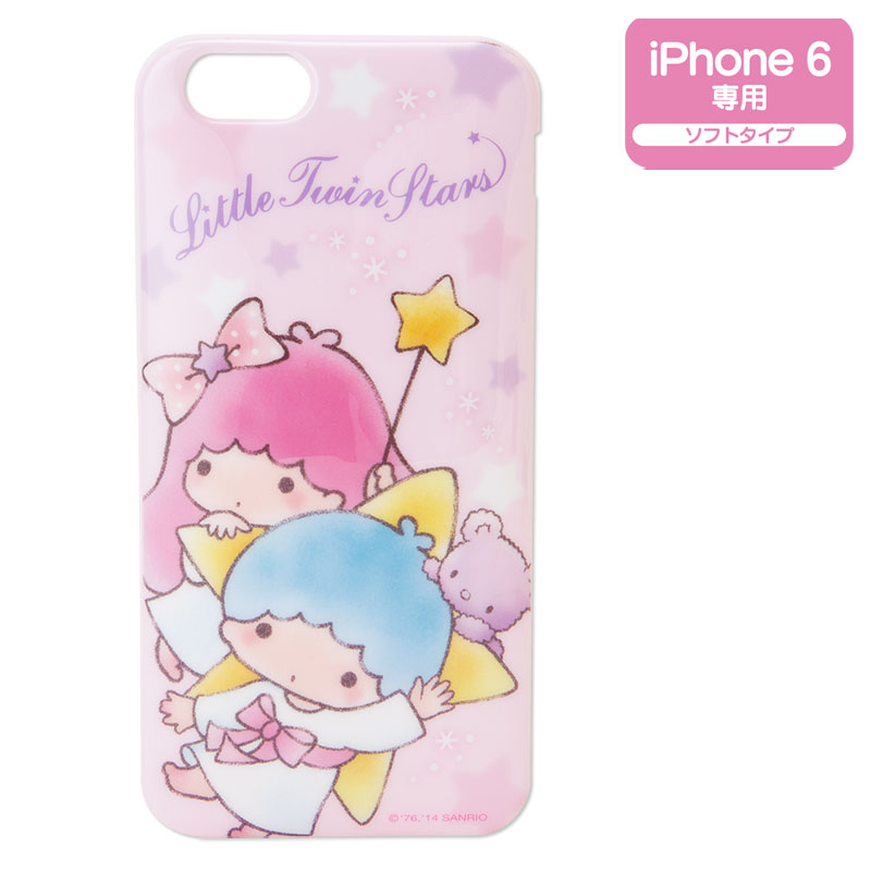 Little Twin Stars Kiki Lala Iphone 6 Soft Cover Case Sanrio Cover Iphone 6 340273 Hd Wallpaper Backgrounds Download