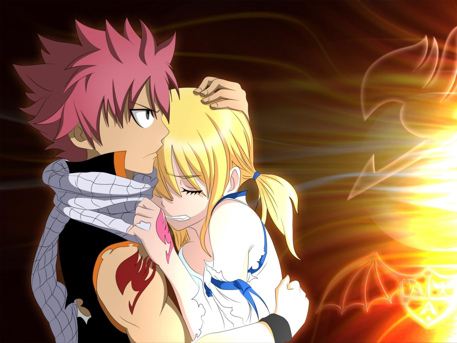 Natsu And Lucy Wallpaper Natsu Fairy Tail Y Lucy 340761